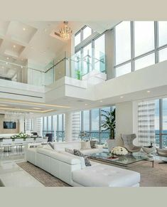 54 Best House Interior Living Room Design to Transfrom Your House « knoc knock – Dream House Dream House Interior, Luxury Homes Dream Houses, Luxury Homes Interior, Dream Home Design, Modern House Design, Interior Design Living Room, Modern Mansion Interior, Dream Homes, Dream Mansion