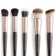 Makeup Geek Face Brush Bundle - The handles of these brushes were updated to a tapered handle on November 5, 2015  Save $16 with this…