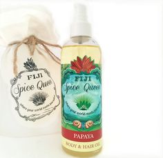 Papaya Body & Hair Oil by FijiSpiceQueen on Etsy #veganskincare #crueltyfreebeauty