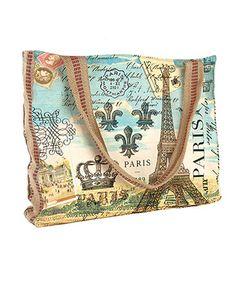 Another great find on #zulily! Paris Designer Tote #zulilyfinds