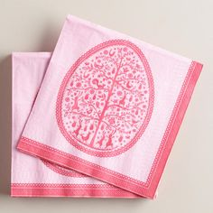 Tree of Life Lunch Napkins at Cost Plus World Market >>     #WorldMarket Easter Style Hunt Sweepstakes. Enter to win a 1K World Market gift card.