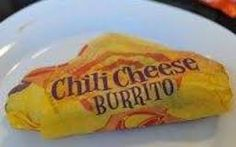 Remember the Chilito from Taco Bell??!! I used chili NOT refried beans... PERFECT!