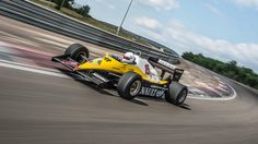 What's it like to drive Renault's 800bhp, 1983 F1 car?