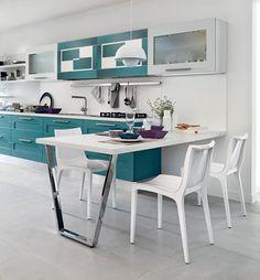 54 best Cucine Lube images on Pinterest   Kitchen ideas, Kitchens ...