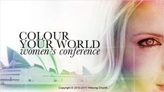 Go to Hillsongs Colour Conference in Sydney...