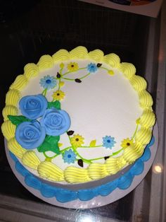 Roses/ flowers...Dq cakes...Dairy Queen