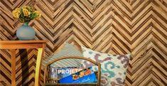 Blog da Revestir.com: O Chevron natural da Decopainel, traz madeira reflorestada com todas as suas nuances. Autoadesivo.
