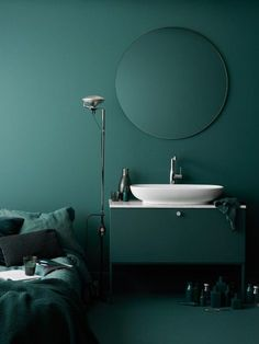 Fredrik Wallner designs block-coloured bathroom furniture for Swoon... - http://centophobe.com/fredrik-wallner-designs-block-coloured-bathroom-furniture-for-swoon-2/ - - Visit for more decorating ideas... http://centophobe.com/fredrik-wallner-designs-block-coloured-bathroom-furniture-for-swoon-2/