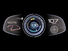 Digital Instrument Clusters Designed With NVIDIA DRIVE 1080p Full HD - YouTube