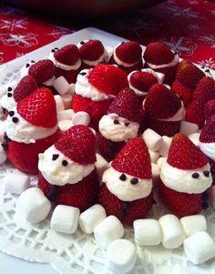 Strawberry Santa 萌到要死去了~~