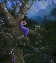 Gilbert Williams Visionary Art - for sale Fairy Land, Fairy Tales, Fantasy World, Fantasy Art, Fantasy Fairies, Nature Spirits, Magical Forest, Fairytale Art, Visionary Art