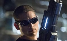 My favorite Villian right now..he might be Captain Cold but he's super hot! -Candy 'The Flash' first look: Wentworth Miller makes his debut as Captain Cold