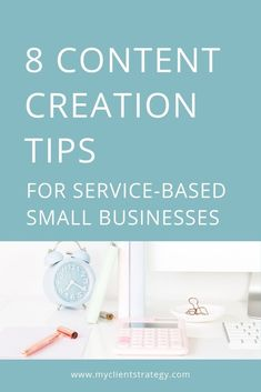 8 Content creation tips for your service-based small business - How do you create an effective content creation system to attract new clients and generate leads fo - Content Marketing Strategy, Business Marketing, Online Marketing, Marketing Plan, Digital Marketing, Creative Business, Business Tips, Online Business, Pinterest Marketing