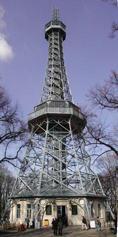 Petrin Hill Observatory Tower - Prague, Czech Republic