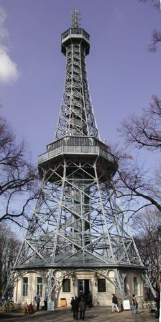 Petrin Hill Observatory Tower - Prague, Czech Republic