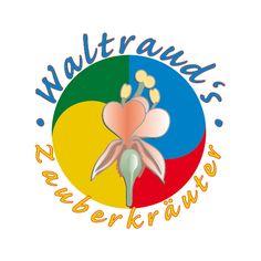 """Logo für eine Kräuter-""""Hexe"""". Waltrauds Zauberkräuter."""