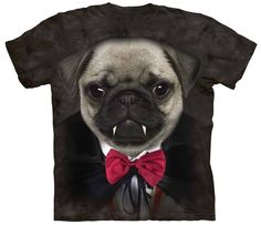 If you LOVE Pugs & Halloween then this shirt with unique artwork is perfect for you! Don't wait only a small number of shirts left. Get Your Limited Edition Shirt Today Before they Sell Out! *** THESE