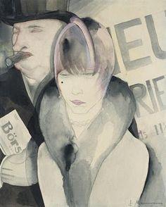 Jeanne Mammen, Stock Dealer, 1929