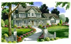 House Plan 24735   Bungalow   Country   Farmhouse  Southern    Plan with 2426 Sq. Ft., 4 Bedrooms, 3 Bathrooms, 2 Car Ga