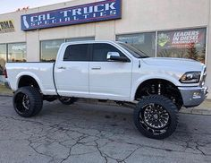 """116 Likes, 3 Comments - Fabtech Motorsports (@fabtech_motorsports) on Instagram: """"RAM 2500 equipped with a Fabtech 7"""" 4 Link System and Dirt Logic 4.0 Coilover Conversion! :…"""""""