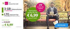 3GB Telekom LTE Internet Flat für 6,99€ http://www.simdealz.de/datentarif/mobilcom-debitel-internet-flat-3000-mit-auszahlung/