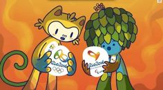 Rio De Janeiro will host the 2016 Summer Olympics and Paralympics, and the official mascots for the events were revealed today.