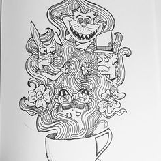 Care for a cup of tea?  #inktober #inktober2016