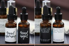 DIY face oil with essential oils