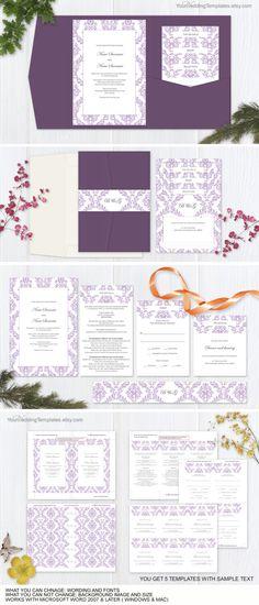 DIY modern rustic wedding invitation templates Printable rustic - download invitation templates