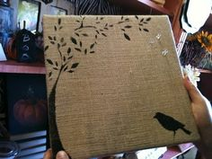 @Kelly Hunt. we could probably make this when you come over. it has a bird. I thought you would like it.