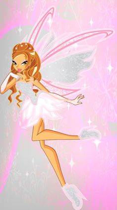winx club angelix | Flora Angeltix by angy5