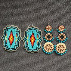 orders done! Who's ready for the grab bag sale? #beadwork #beadedearrings