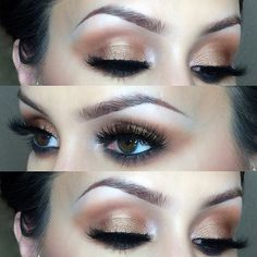 Bronzy look that's apart of a day to night look using the #jaclynhillfavorites palette from @morphebrushes @makeupforeverofficial flash color 19 Look at those lashes tho! @flutterlashesinc in Ashlin + Kelsey. (Discount code: CFLOWER) @sigmabeauty boost eyeliner (discount code: CFLOWER til the end of next month!) @anastasiabeverlyhills dip brow medium with the brow powder duo in dark There's a new video up + this one will be up soon. Youtube: cflowermakeup