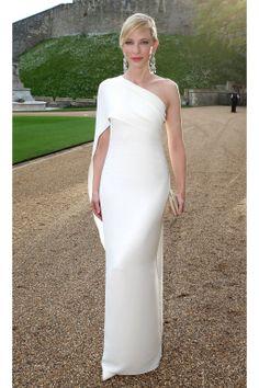 Ralph Lauren Royal Marsden Dinner At Windsor Castle - Ralph Lauren -    Cate Blanchett in Ralph Lauren 2014