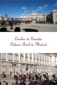 Relevo Solemne de la Guardia Real en el Palacio Real de Madrid. #madrid #palacioreal #turismo #vacaciones #MadridSV Louvre, Building, Travel, Palaces, Vacations, Turismo, Viajes, Buildings, Traveling