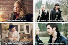 Getting along with your soon to be mother in law ( RIGHT ) CAPTAINSWAN till death do us part ;) forever and always :)