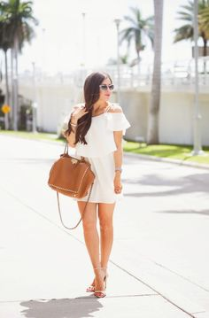 The Sweetest Thing: DRESS: Topshop | BAG: Valentino
