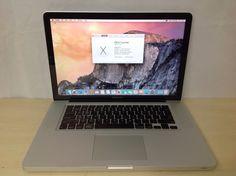 "Apple MacBook Pro 15.4"" MC372LL/A Laptop- 4GB RAM 500GB HD - HV50"