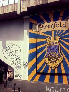Streetart Ehrenfeld #Cologne #Ehrenfeld #Art