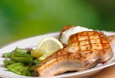Côtelettes de porc glacées à l'érable