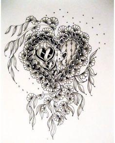 А ведь очень скоро день влюбленныхпора начинать рисовать сердечки близким, попутно отрабатывая любимые танглы, 2-в-1, практичненько#творчество #рисунок #рисую #скетчбук #скетчинг #линер #графика #арт #зентангл #дудлинг #рисуюкаждыйдень #зенарт #медитация #красиво #zentangle #zenarts #art #вдохновение #artis #doodling #doodle #zenart #zendoodle #atc #drow #art #ink #instaart #instaartist