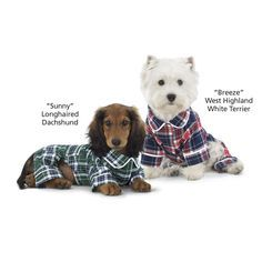 Plaid Flannel Dog Pajamas - Dog Beds, Gates, Crates, Collars, Toys, Dog Clothing & Gifts #toy dog #searchub
