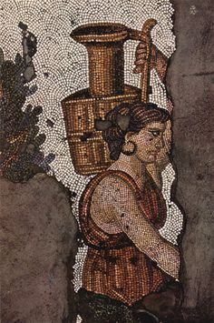 Byzantine mosaic from the Great Palace Mosaic Museum, which is located on the Sultanahmet Square in Istanbul, Turkey, just opposite to the Hagia Sophia. The museum houses mosaics from the Byzantine. Ancient Rome, Ancient History, Art History, Byzantine Architecture, Byzantine Art, Byzantine Mosaics, Hagia Sophia, Ancient Artifacts, Kirchen