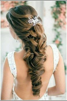 Beautiful Wedding Hair. ❤️