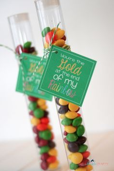 Put a rolo at the end... She's {kinda} Crafty: You're Gold Baby | St. Patrick's Day Printable