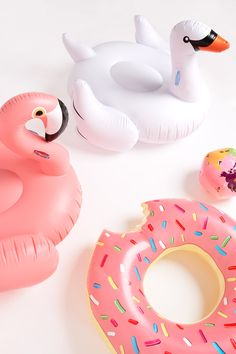 If you have a pool or visit one often these pool toys or definitely essential!