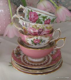 Rose Chintz Cottage: A Pink Tea for Tea Time Tuesday