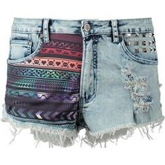 BamBam BAMBINO Szorty jeansowe 8 bit