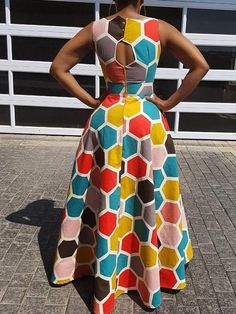 Excellent maxi dresses are available on our web pages. Check it out and you wont be sorry you did. African Dresses For Kids, Latest African Fashion Dresses, African Dresses For Women, African Print Fashion, African Attire, African Traditional Dresses, Clothes For Women, High Waist, Detachable Collar