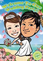 イラストレーターの紹介)^o^( http://wedding.mypic.jp/data/0183/index.html